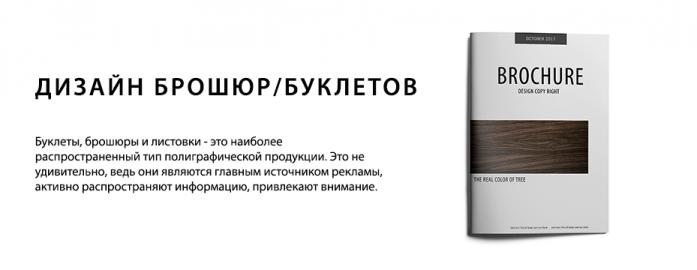 Дизайн брошюр/Буклетов